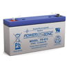 Power Sonic Batteries - Power Sonic AGM SLA Rechargeable battery 6 volt 1.4 ah | MegaBuy Computer Store Computer Parts