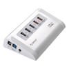 Orico USB Hubs - Orico 5-Port USB 3.0 Hub with 3 x 5V 1A + 2 x 5V 2.4A Charger | MegaBuy Computer Store Computer Parts