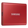 External SSDs - Samsung Portable SSD T7 500GB Metallic Red USB3.2 Type-C R/W(Max) 1050MB/s   MegaBuy Computer Store Computer Parts