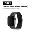 3Sixt Third Party Apple Watch Accessories - 3Sixt Leather Loop Band Apple Watch 42/44mm Black | MegaBuy Computer Store Computer Parts