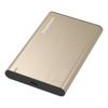Simplecom 2.5 Portable External Hard Drive Enclosures - Simplecom SE221 Aluminium 2.5   SATA HDD/SSD to USB 3.1 Enclosure Gold | MegaBuy Computer Store Computer Parts