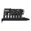 Other Input Devices - Orico PVU3-7U-V1 7-Port USB3.0 PCI-E Expansion Card | MegaBuy Computer Store Computer Parts