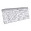 Wireless Desktop Keyboards - Logitech Slim Multi-Device Wireless Keyboard K580 White | MegaBuy Computer Store Computer Parts