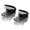 ALOGIC - ALOGIC 0.5m Black CAT6 network Cable MOQ:25   MegaBuy Computer Store Computer Parts