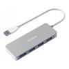 USB Hubs - Simplecom CH319 Ultra Slim Aluminium 4 Port USB 3.0 Hub for PC Mac Laptop | MegaBuy Computer Store Computer Parts