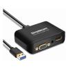 Docks & Port Replicators - Simplecom DA326 USB 3.0 to HDMI + VGA Video Adapter with 3.5mm Audio Full HD | MegaBuy Computer Store Computer Parts