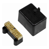 Brackets & Mounting - 4Cabling 4C | Neutral Link 100A 500V 7 Hole Black | MegaBuy Computer Store Computer Parts