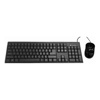 Wired Keyboard & Mouse Combos - Toshiba Dynabook KU40M Wired Keyboard and Mouse Combo Black  | MegaBuy Computer Store Computer Parts